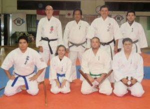 Examen de Kyu Mayores de Karate