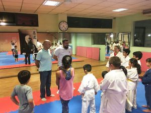 Referentes del Judo Nacional visitaron a alumnos del CIT
