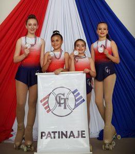 Patinadoras del CIT cosechan 9 medallas de oro y 3 de plata