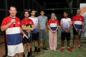 Premiación del primer torneo Copa Cespedpar de Pádel del CIT