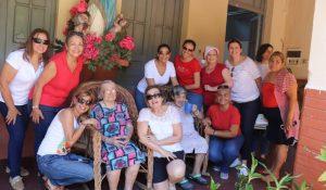 """Visita a hogar de ancianas """"Nuestra Señora de la Asunción"""""""