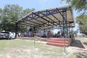 Inauguración y entrega de reconocimientos en el Anexo Remansito