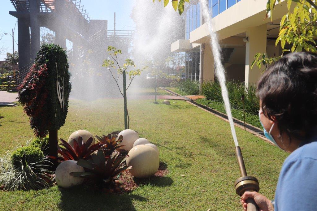 Staff del CIT recibió capacitación sobre primeros auxilios y extinción de incendios